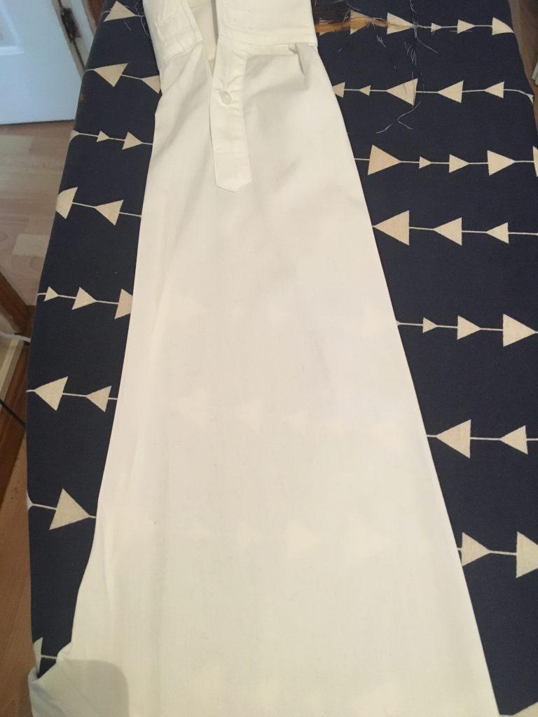 Ironing Shirt Sleeves
