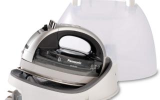 Panasonic NI-WL600 Cordless Iron