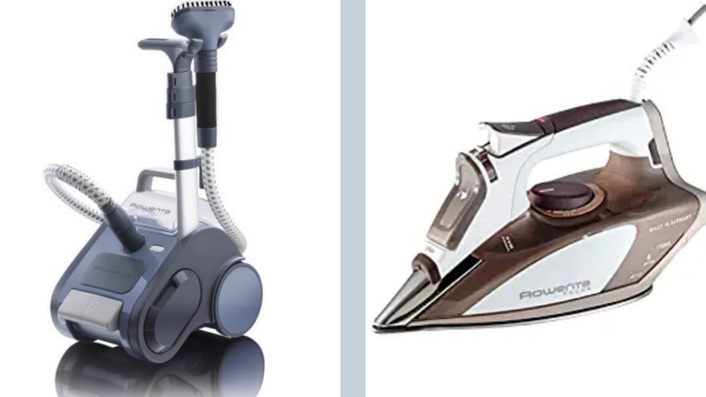 Rowenta steamer and iron