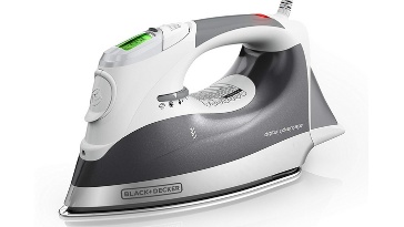 BLACK+DECKER Digital Advantage Professional Steam Iron with LCD Screen