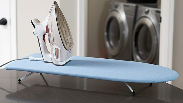 Household Essentials Tabletop Ironing Board with Folding Legs