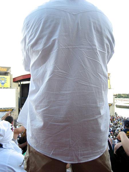 Creased Shirt