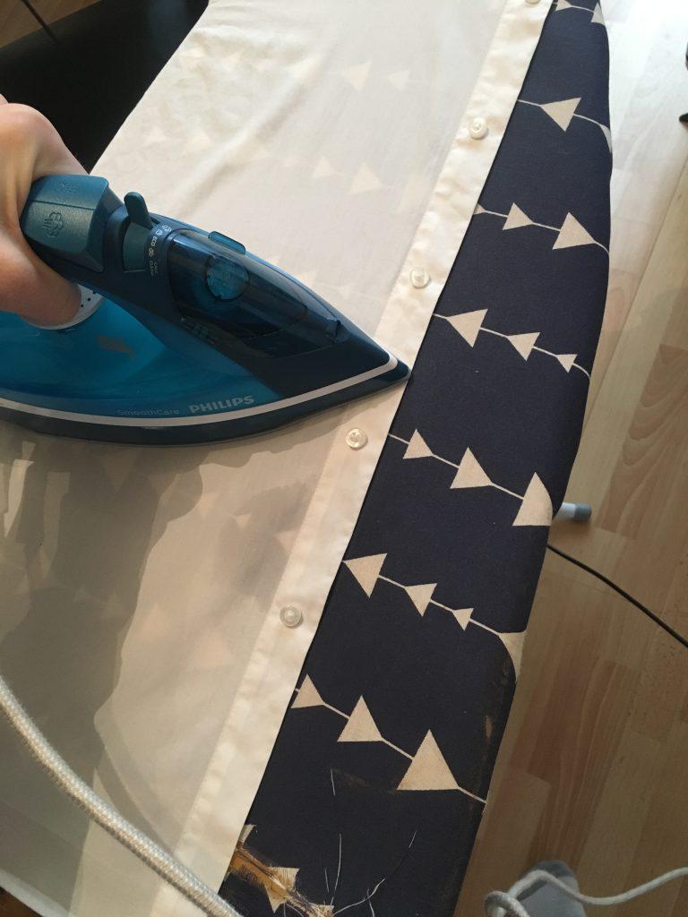 Ironing Around Buttons