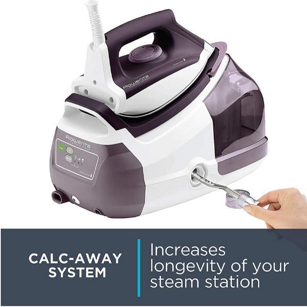 Rowenta Pro Precision Steam Station Calc-Away System