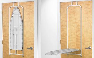 Polder Over The Door Ironing Board
