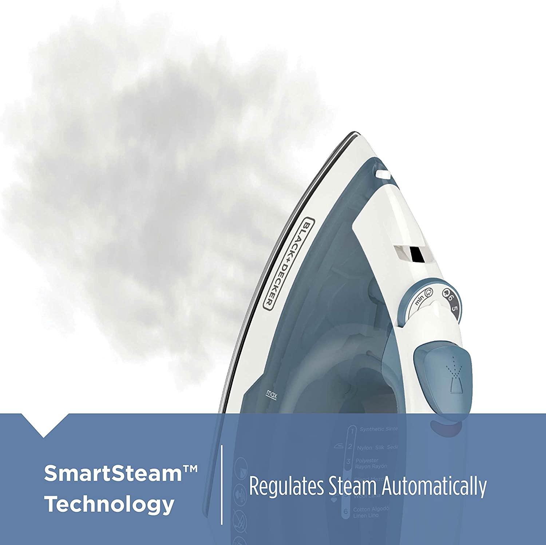 Black+Decker SmartSteam Technology